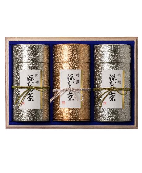 缶入り200g 3本詰セット (吟選セット)